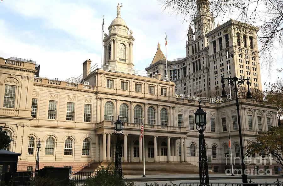 Destination Photograph - New York City Hall by Douglas Sacha