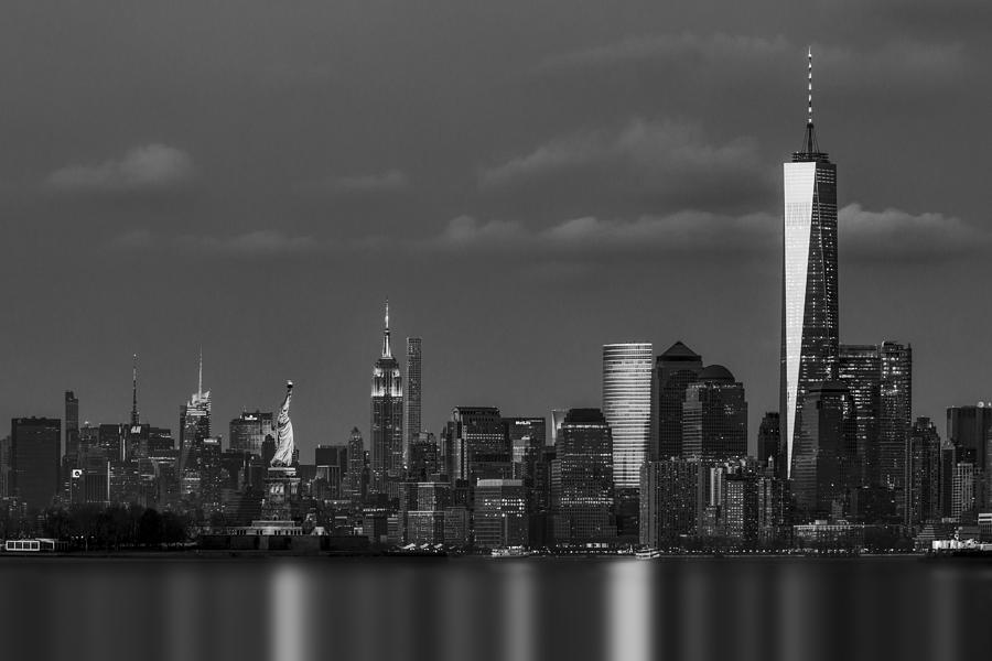 New York City Icons BW by Susan Candelario