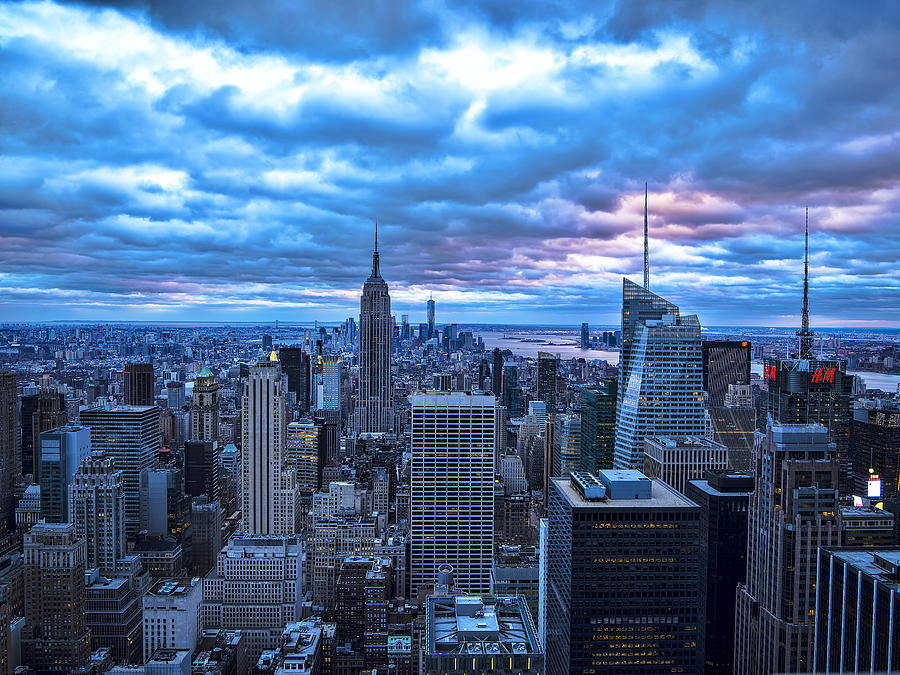 Cityscape Photograph - New York City Looking South by Michael Tischler