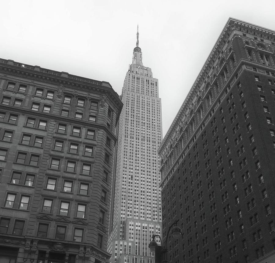 Black And White Photograph - New York City  by Nikki Mason