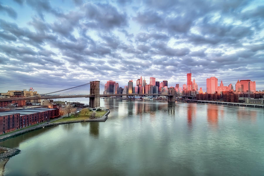 Horizontal Photograph - New York City by Photography by Steve Kelley aka mudpig