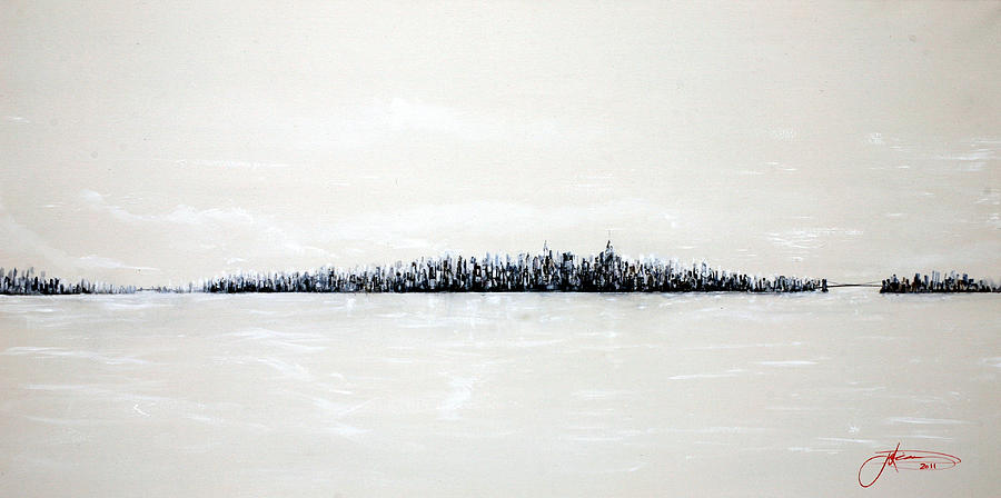 Jack Diamond Painting - New York City Skyline 48 by Jack Diamond