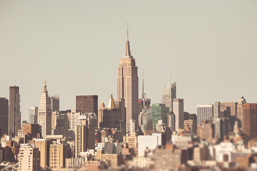 Collectibles Photograph - New York City Skyline II by Lena del Sol Langaigne
