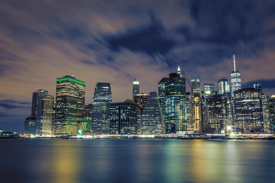 Nyc Photograph - New York City Skyline by Lorrie Joaus