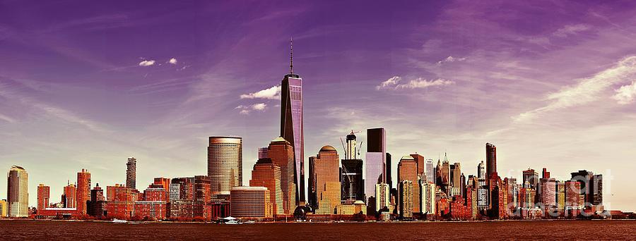 New York City Photograph - New York City Skyline by Steven Liveoak