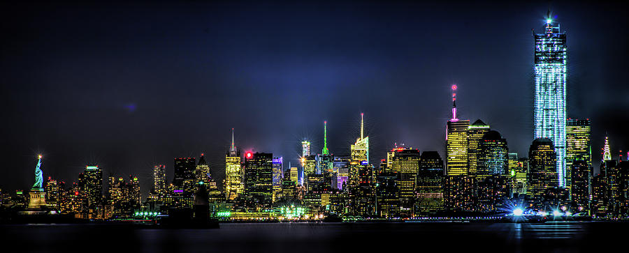 New York City Skyline by Theodore Jones