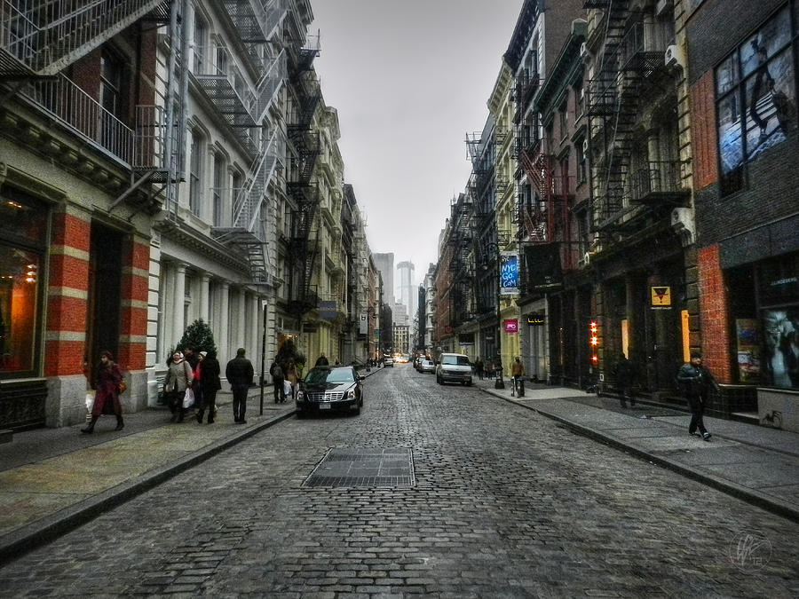 Soho Photograph - New York City - Soho 003 by Lance Vaughn