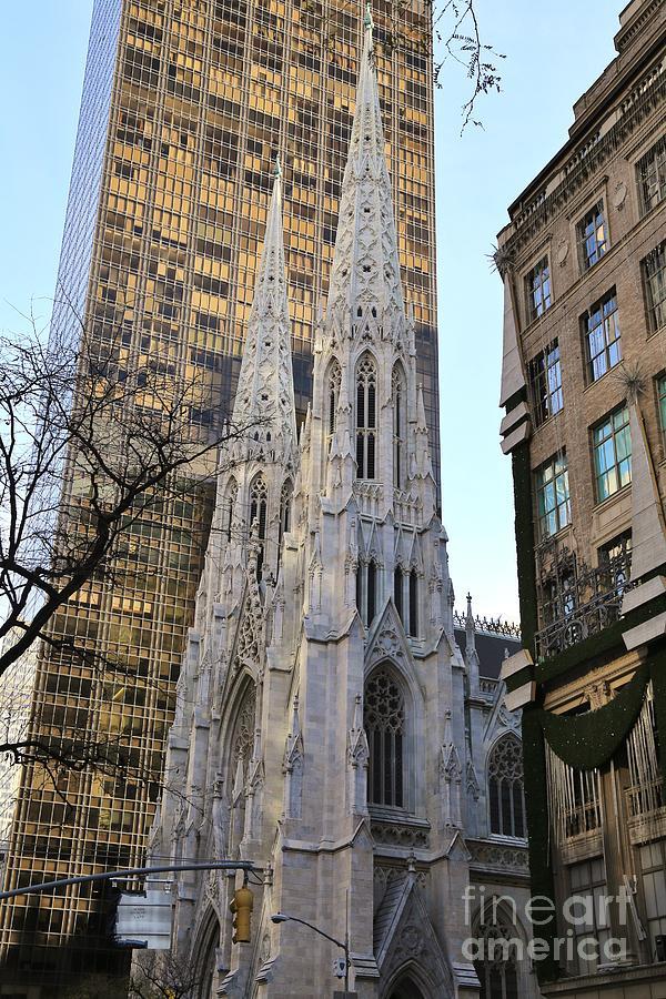 Destination Photograph - New York City St. Patricks Cathedral by Douglas Sacha