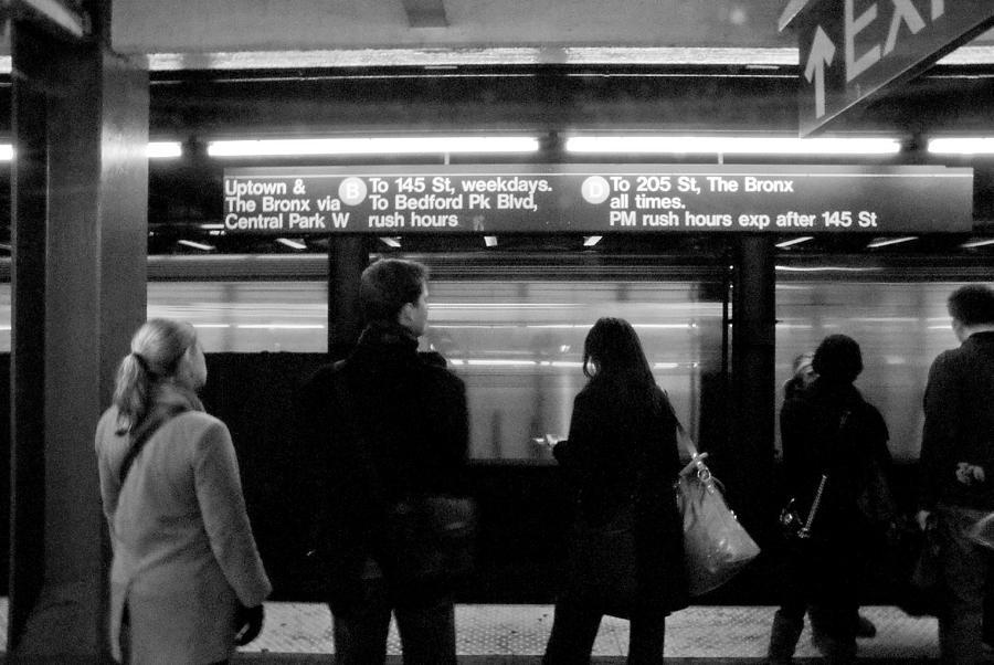 New York Photograph - New York City Subway by Patrick  Flynn