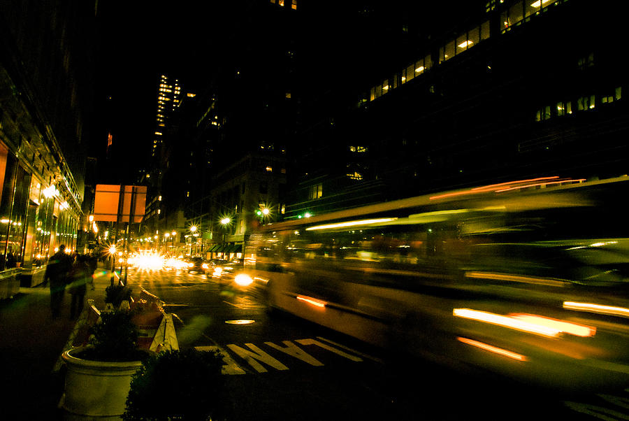 New York City Photograph - New York City Traffic by Patrick  Flynn