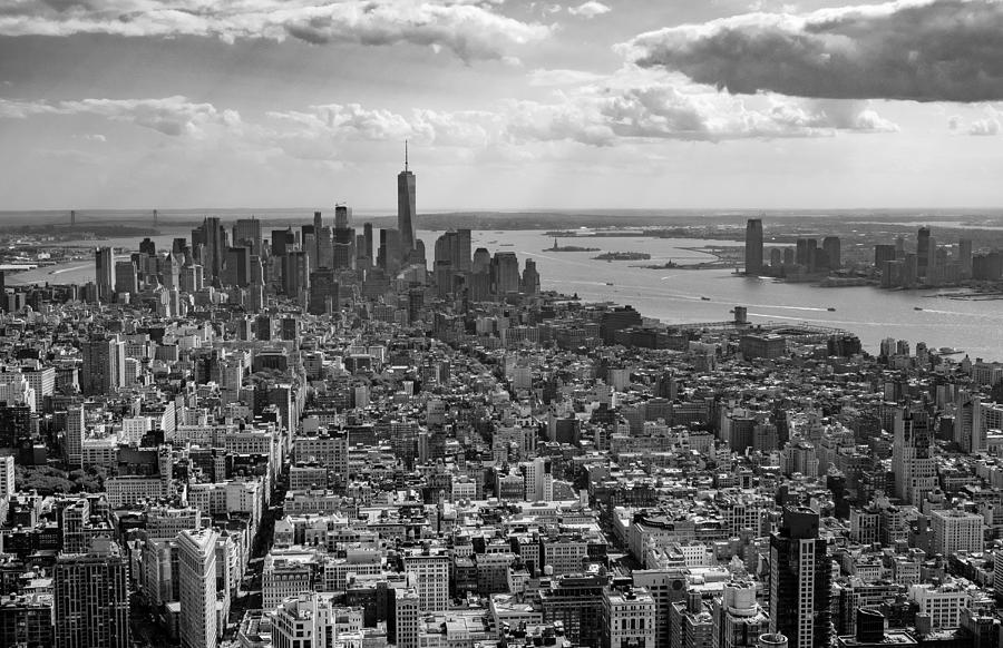 New York City - View from Empire State Building by Sabine Konhaeuser