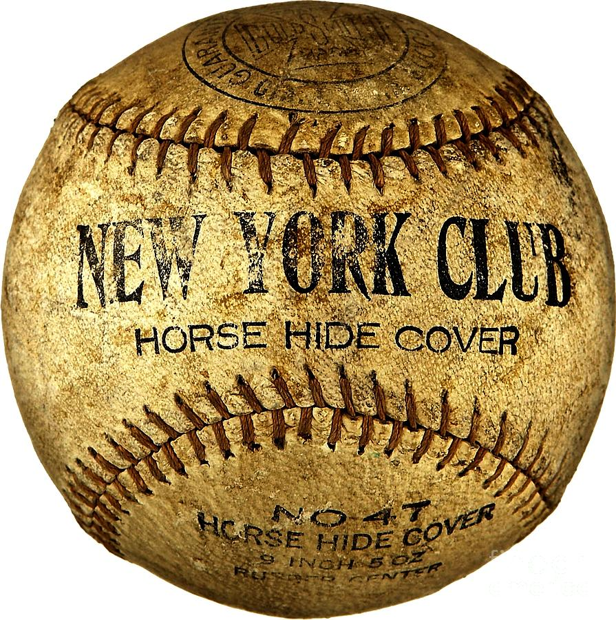 New York Club Basball Circa 1918 Photograph by Peter Gumaer Ogden
