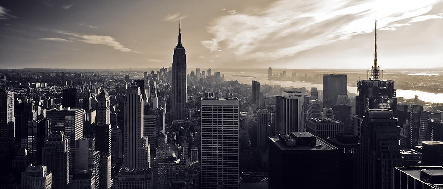 New York Photograph - New York by Dave Bowman