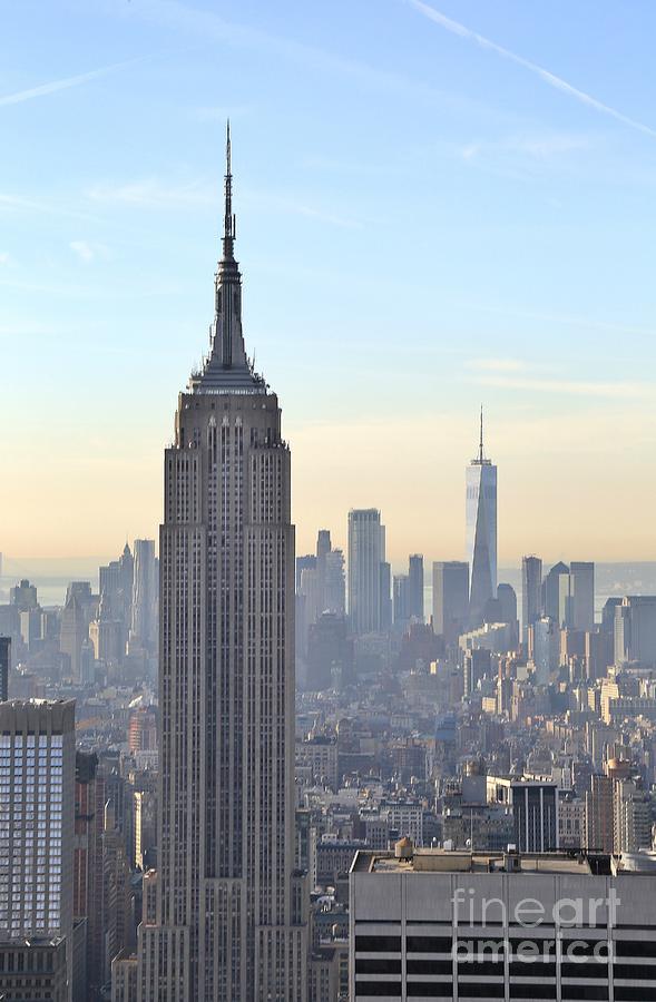 Destination Photograph - New York Empire State Building by Douglas Sacha