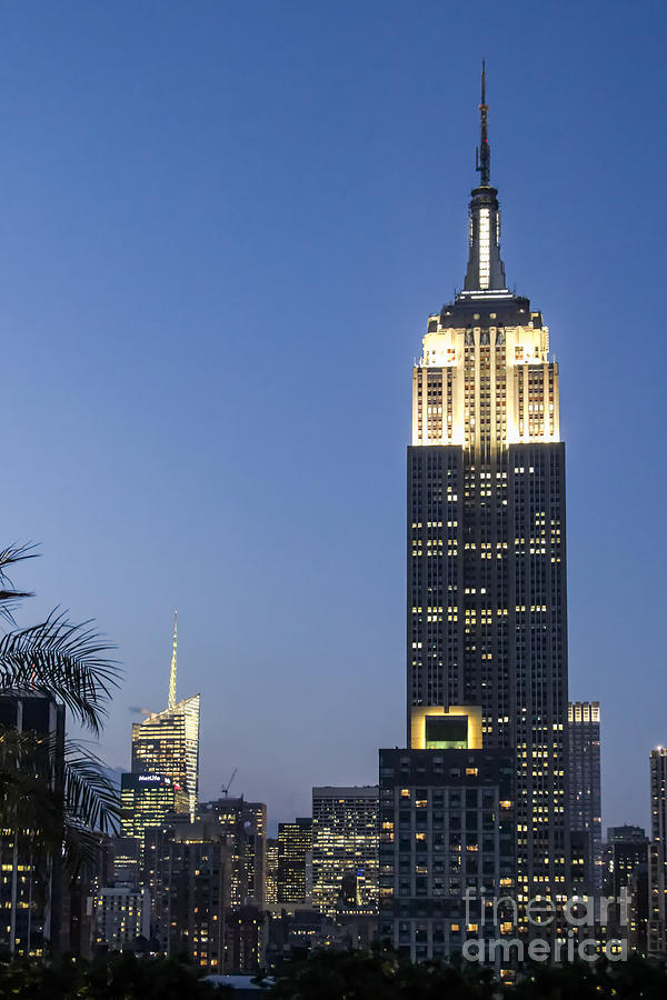 230 Photograph - New York Empire State building  by Juergen Held