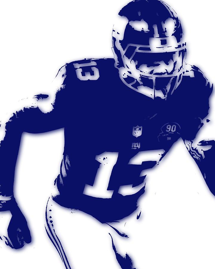 New York Giants Odell Beckham Jr Photograph by Joe Hamilton