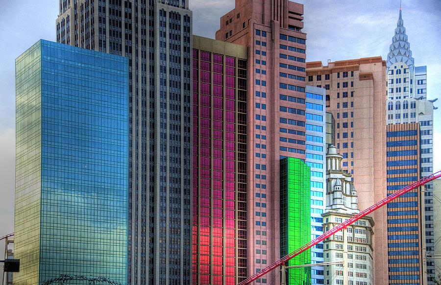 New York Photograph - New York-new York - Las Vegas by Neil Doren