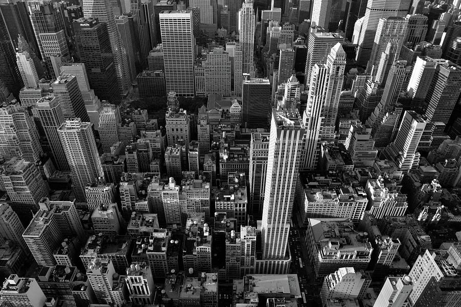 New York Photograph - New York, New York 5 by Ron Cline
