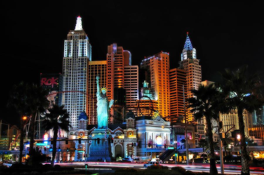 Las Vegas Photograph - New York New York Hotel And Casino by Eddie Yerkish