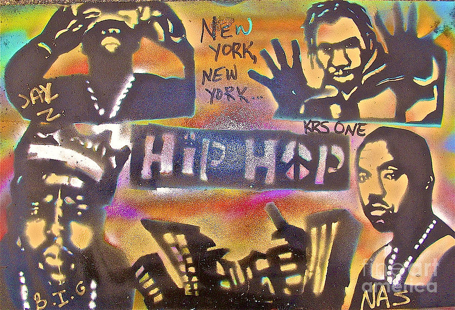 Hip Hop Painting - New York New York by Tony B Conscious
