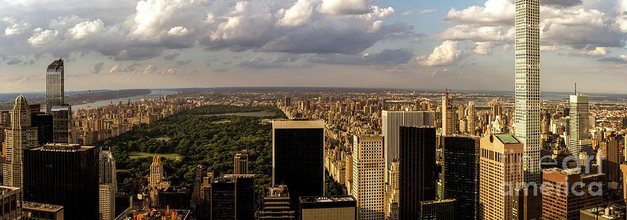 New York Panorama by Franz Zarda
