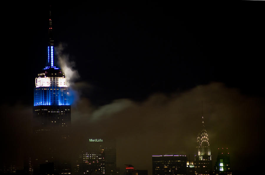 Empire State Building Photograph - New York by Patrick  Flynn