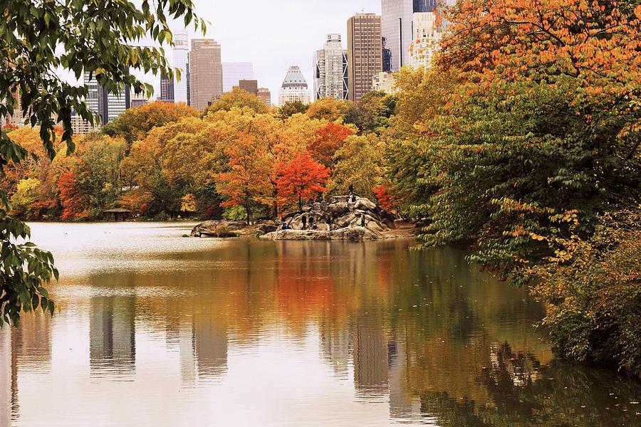 New York Reflections Photograph