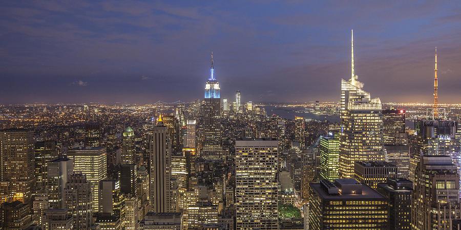 Amerikanisch Photograph - New York Skyline  by Juergen Held