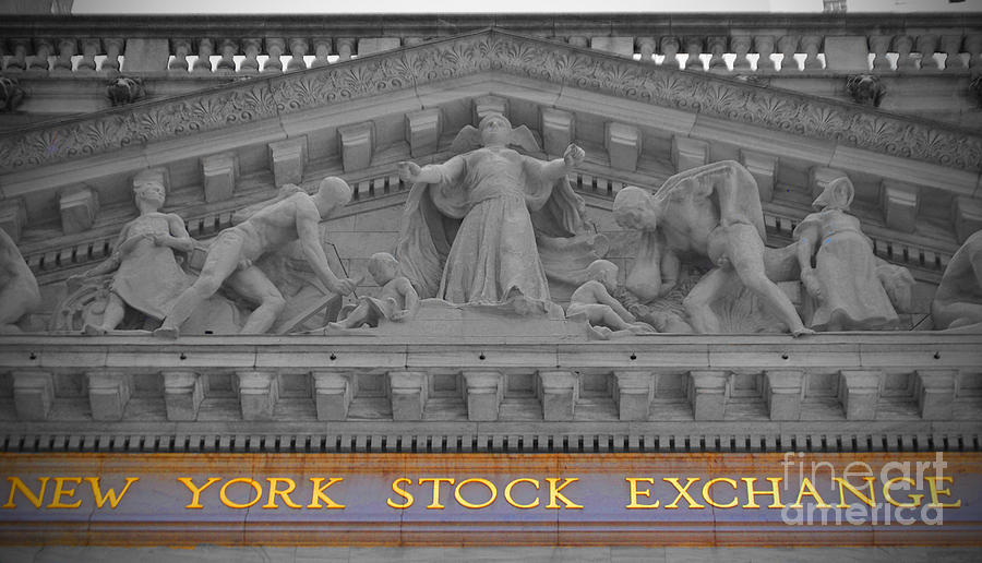 New Photograph - New York Stock Exchange by Jost Houk