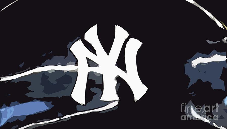 New York Yankees Digital Art By Pablo Franchi