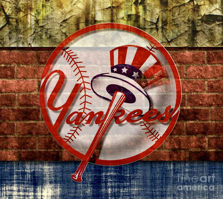 ca1922fc1bd10 ... new york yankees top hat brick 2 digital art by cac graphics