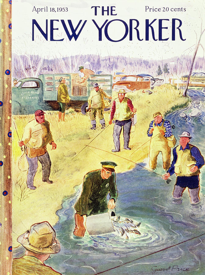 New Yorker April 18 1953 Painting by Garrett Price