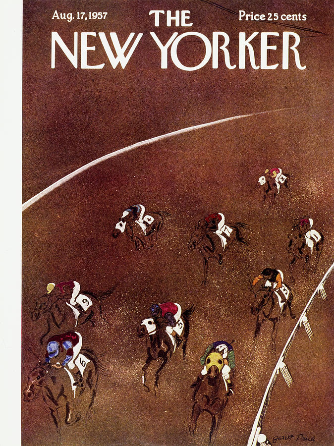New Yorker August 17 1957 Painting by Garrett Price
