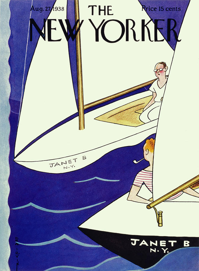 New Yorker August 27 1938 Painting by Rea Irvin