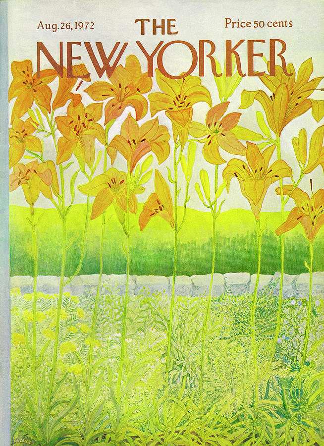 New Yorker Cover August 26 1972  Drawing by Ilonka Karasz