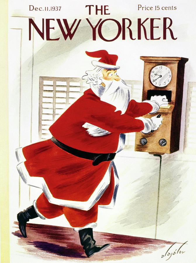 New Yorker December 11 1937 Painting by Constantin Alajalov