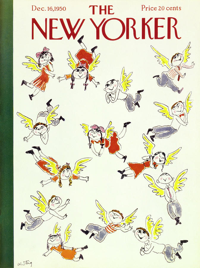New Yorker December 16 1950 Painting by William Steig