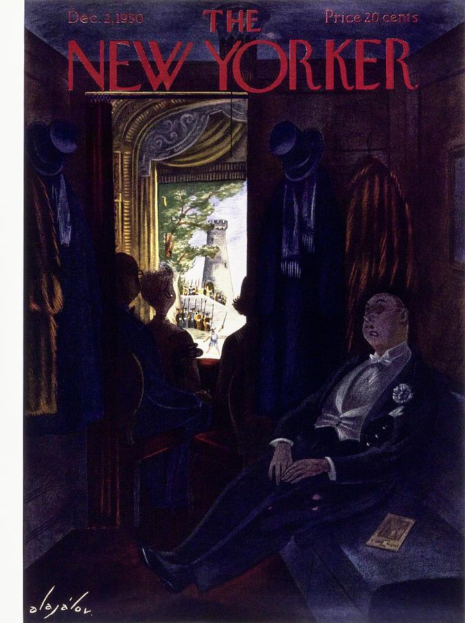 New Yorker December 2 1950 Painting by Constantin Alajalov