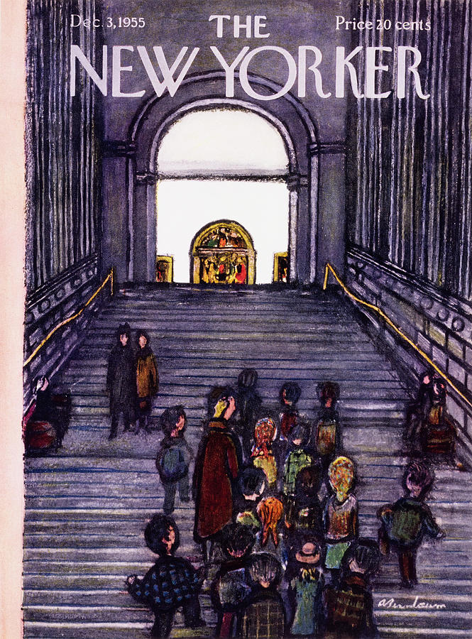 New Yorker December 3 1955 Painting by Abe Birnbaum