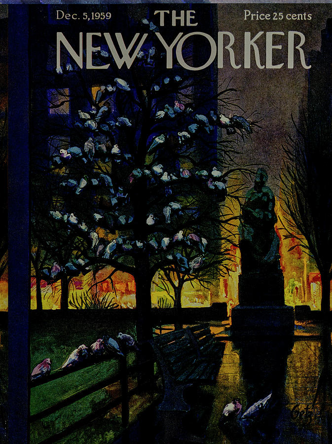 New Yorker December 5 1959 Painting by Arthur Getz