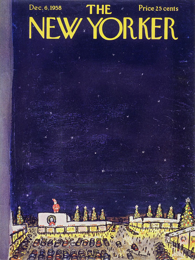 New Yorker December 6 1958 Painting by Abe Birnbaum