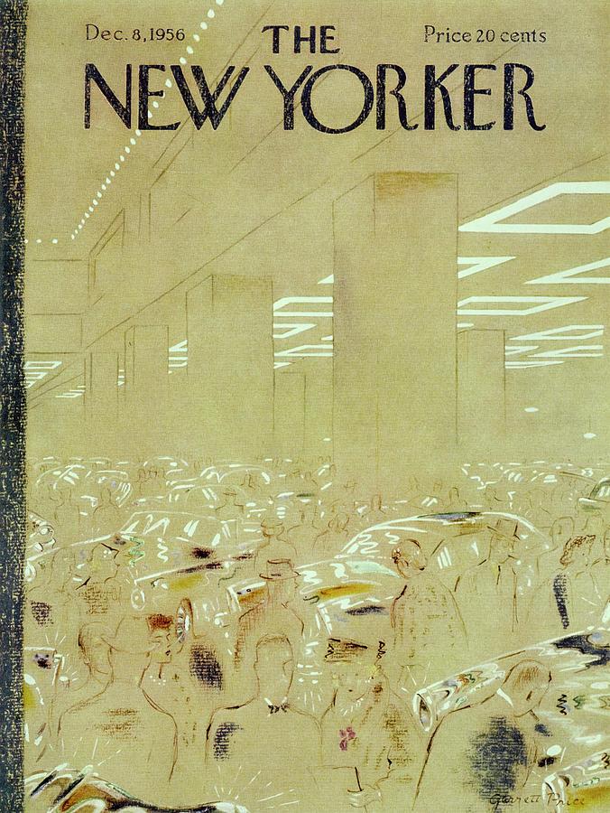New Yorker December 8 1956 Painting by Garrett Price