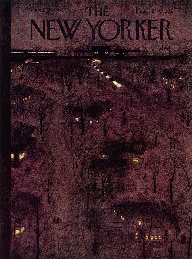 New Yorker February 6 1954 Painting by Garrett Price