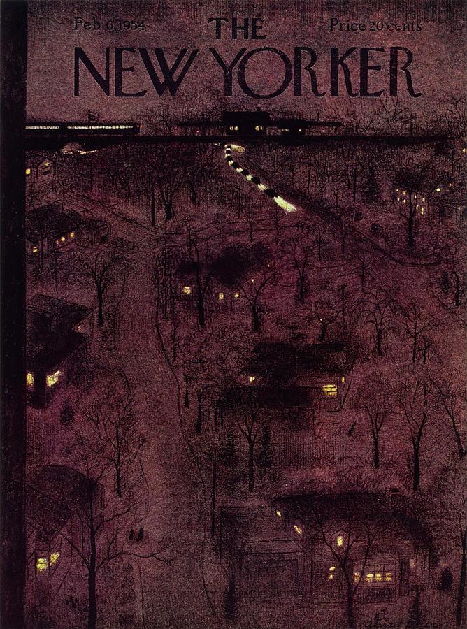 New Yorker February 6 1954 Painting by Garrett Price