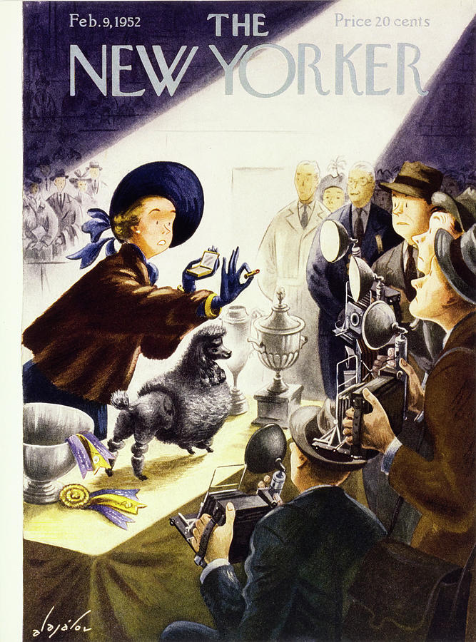 New Yorker February 9 1952 Painting by Constantin Alajalov