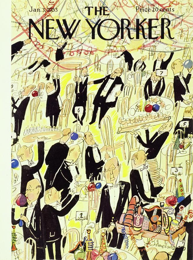New Yorker January 03 1953 Drawing by Ludwig Bemelmans