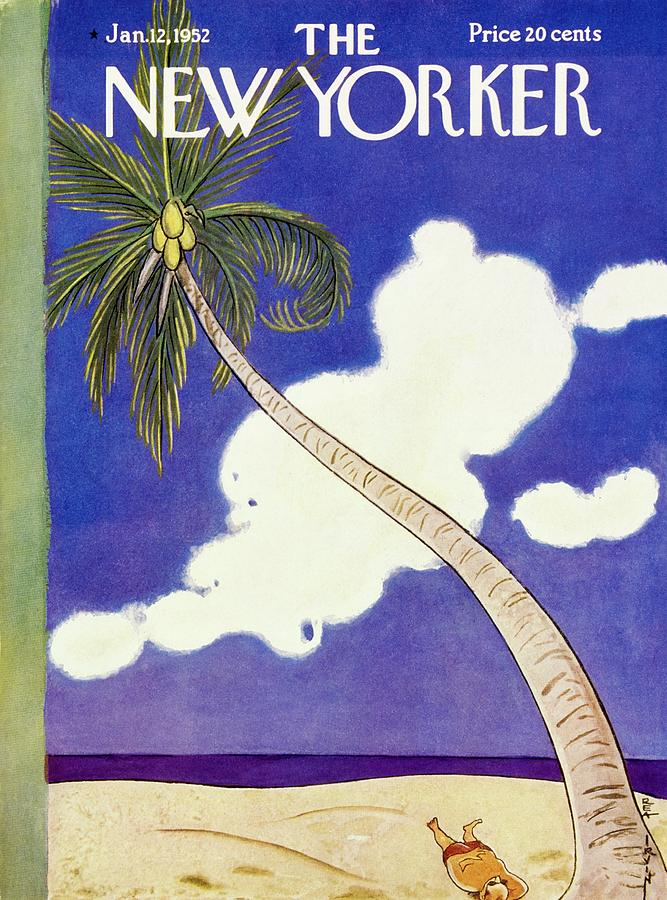 New Yorker January 12 1952 Painting by Rea Irvin