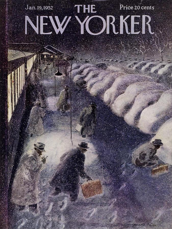 New Yorker January 19 1952 Painting by Garrett Price