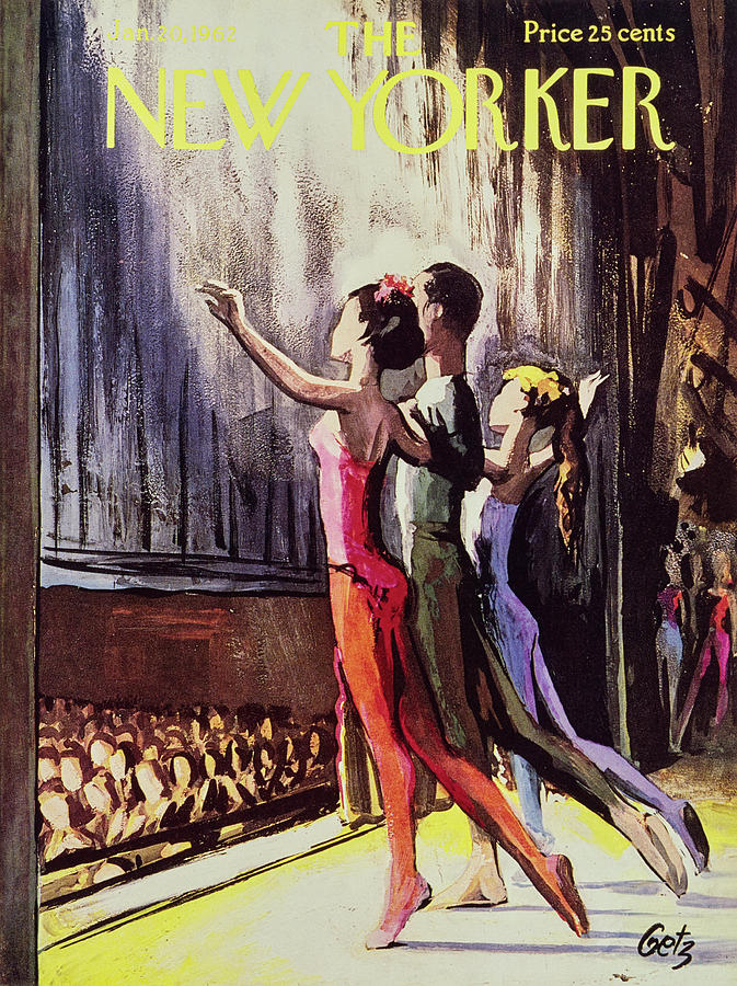 New Yorker January 20 1962 Painting by Arthur Getz