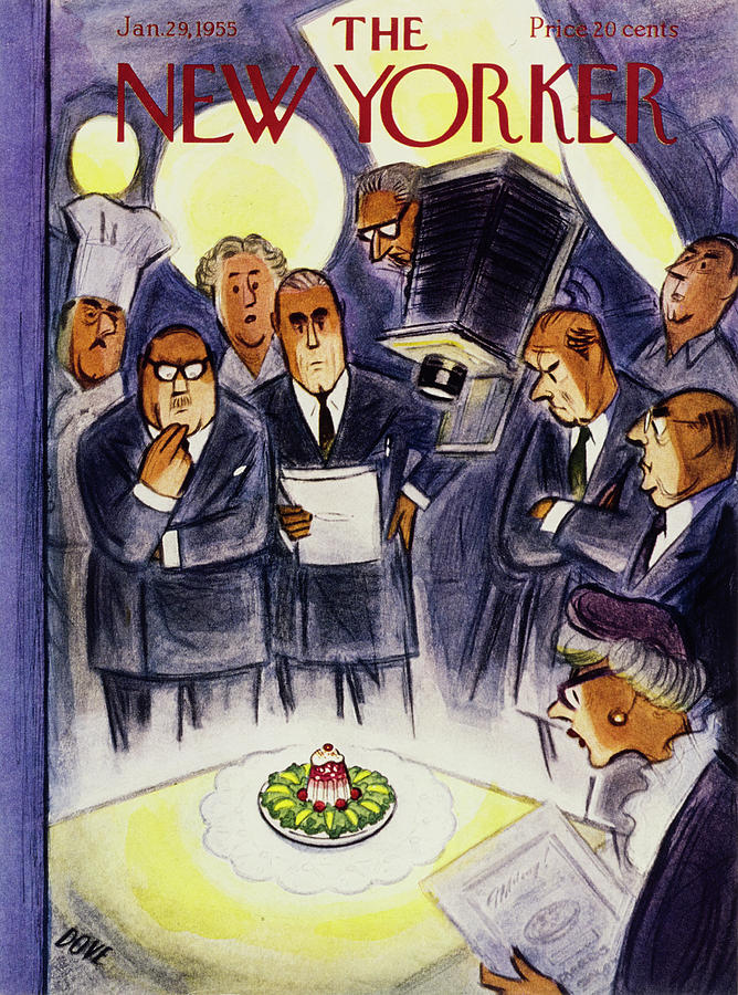 New Yorker January 29 1955 Painting by Leonard Dove
